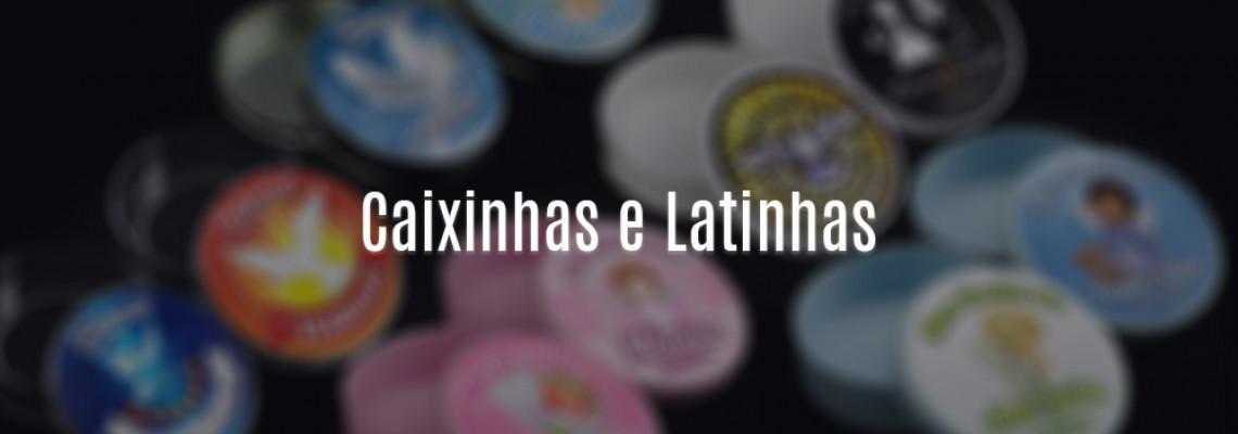 Caixinhas Redondas e Latinhas