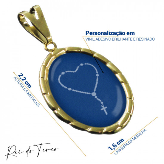 Medalha Promocional Fotografia