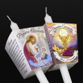 Vela 25cm mais Protetor Eucaristia